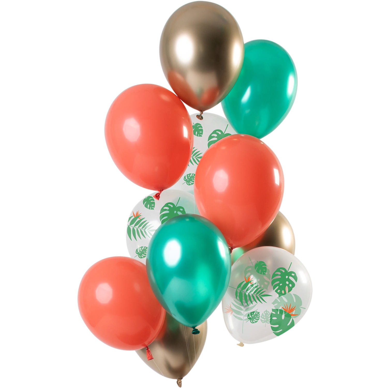 Set de 12 Ballons Tropical - 30cm