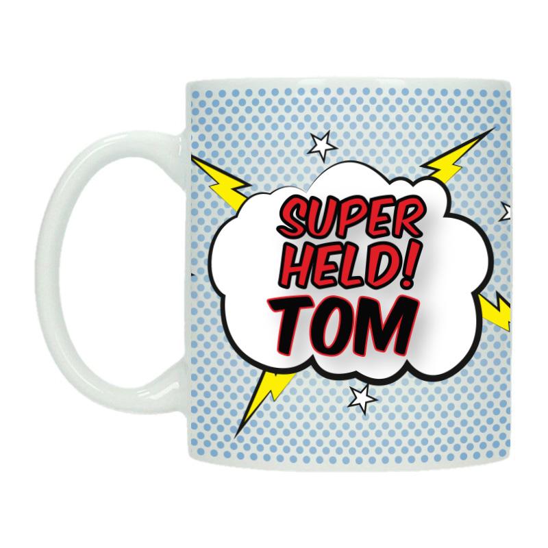 Mok met naam - Superheld