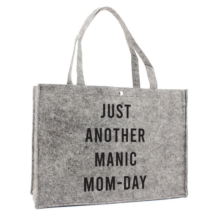 Sac en feutre  - Just another manic mom-day