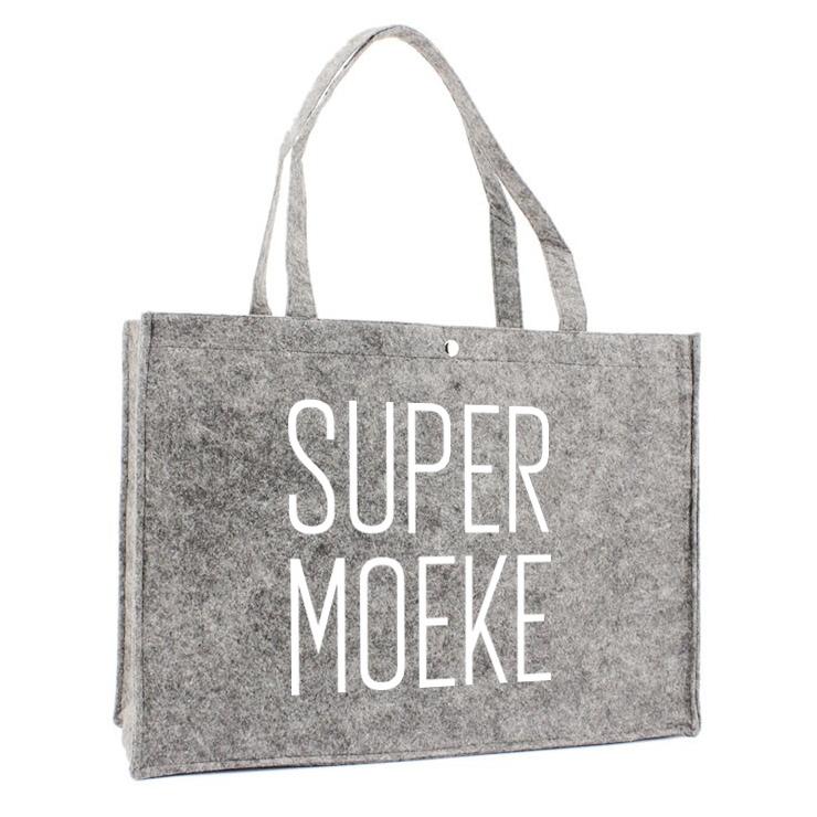 Vilten Tas - Super Moeke