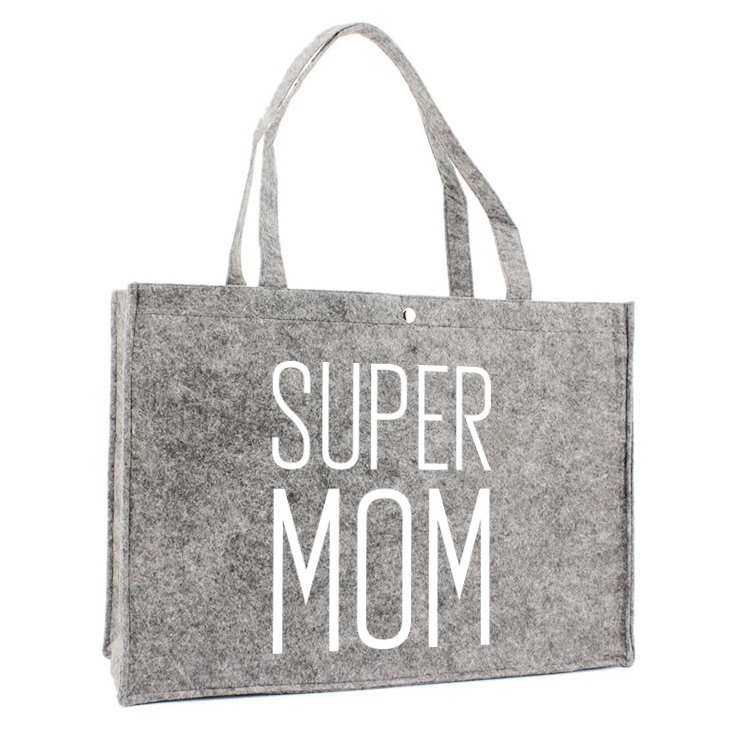 Sac en feutre  - Super MOM