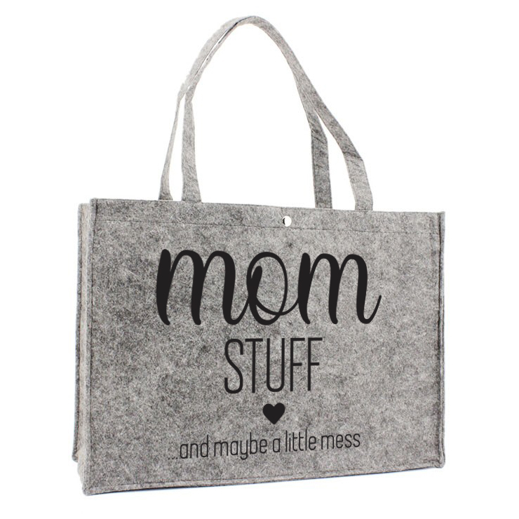 Sac en feutre - Mom stuff