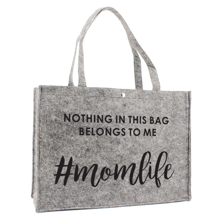 Vilten Tas - Nothing in this bag belongs to me. Momlife