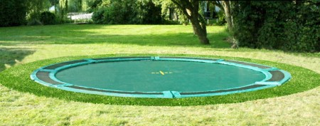 Kadee trampoline - Inground Air 365