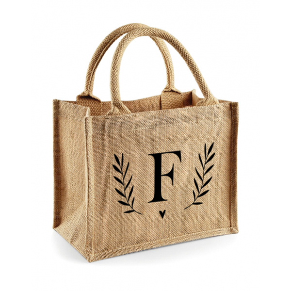 Jute mini shopper