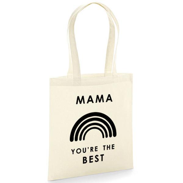 Stoffen tas met naam - You're the best