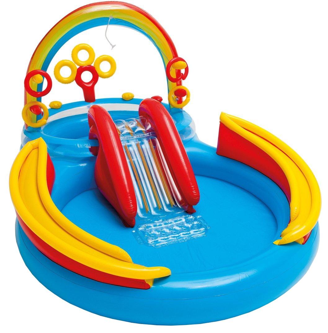 Intex kinderzwembad Regenboog