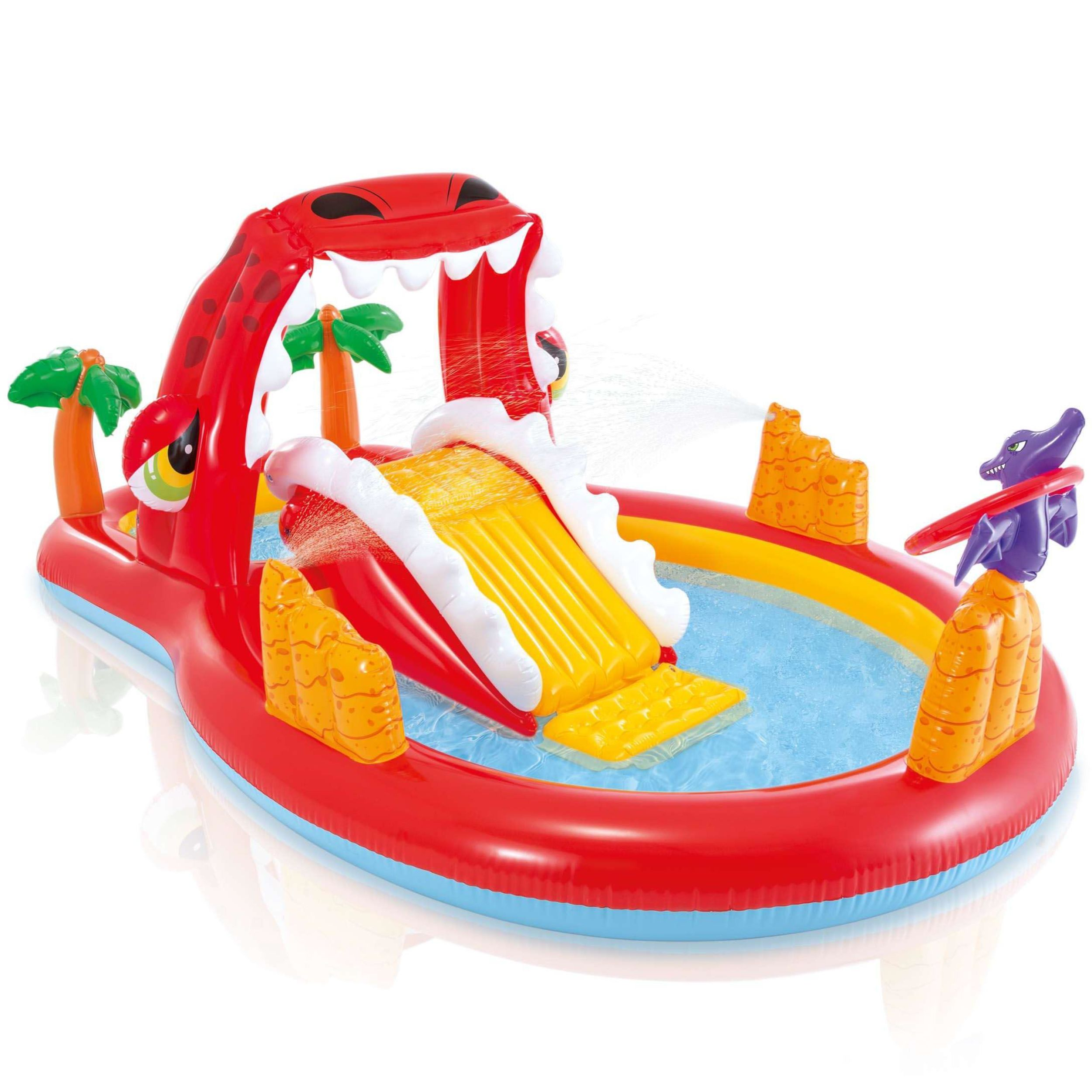Intex zwembad Happy Dino playcenter 196 cm