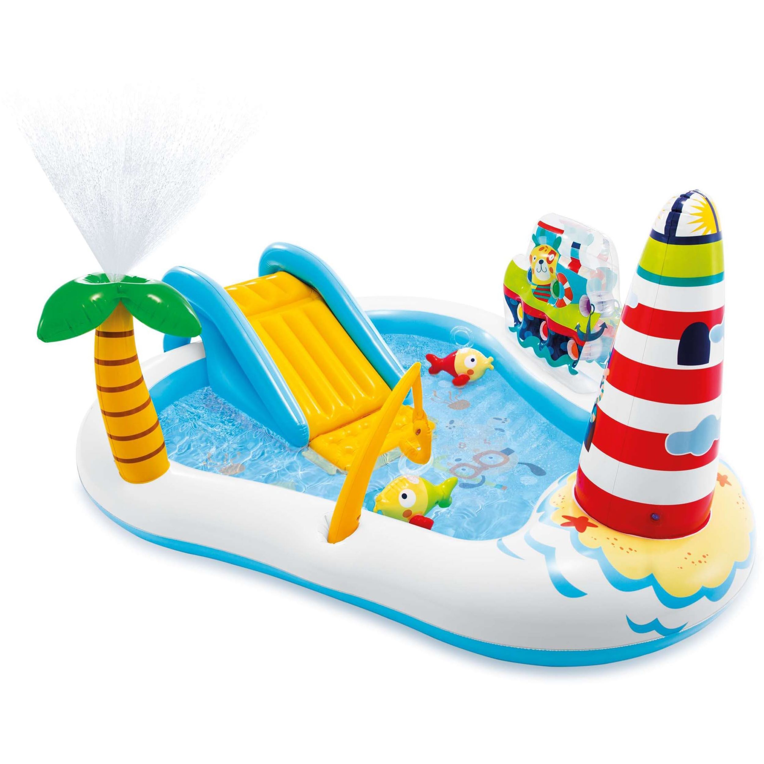 Intex kinderzwembad Fishing Fun Play Center