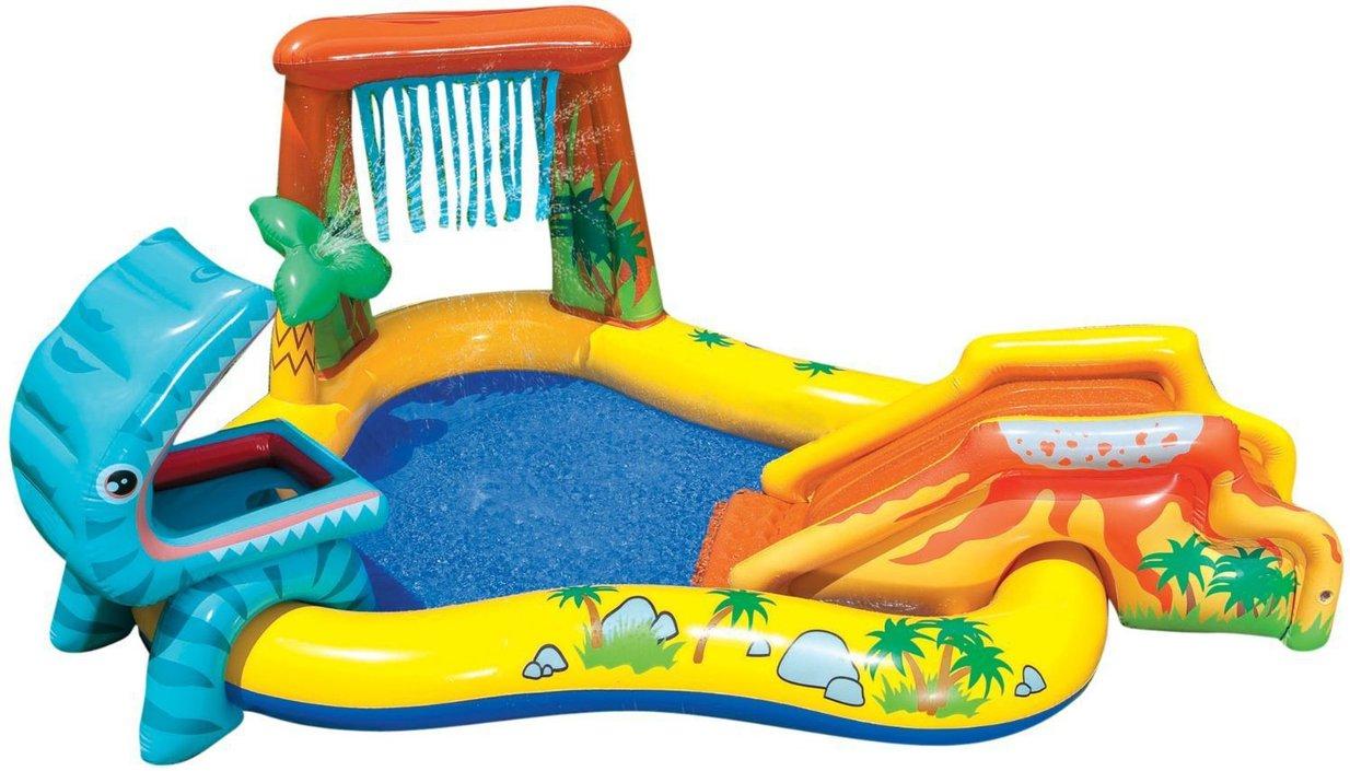 Intex opblaaszwembad Dino Speelcentrum 249 cm
