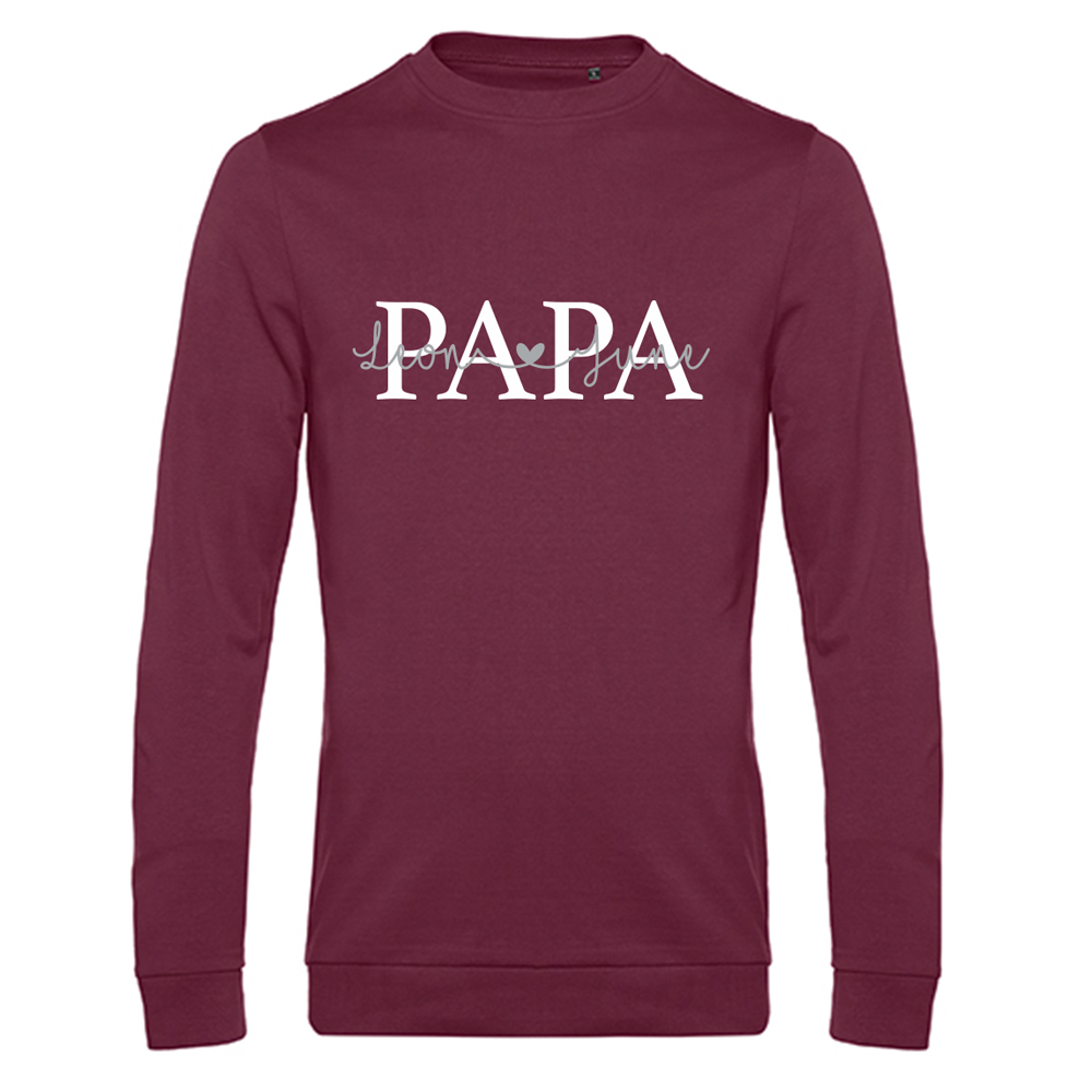 Papa sweater met namen - Summer Edition