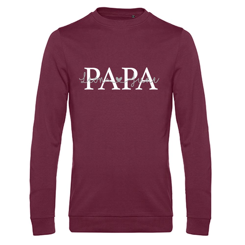 Papa sweater met namen - Summer Edition