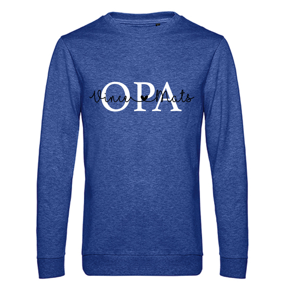 Opa sweater met namen - Summer Edition