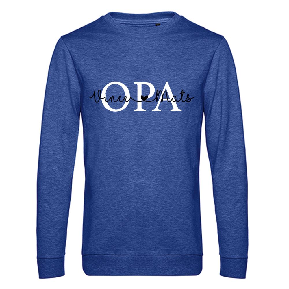 Opa sweater met namen - Summer Edition