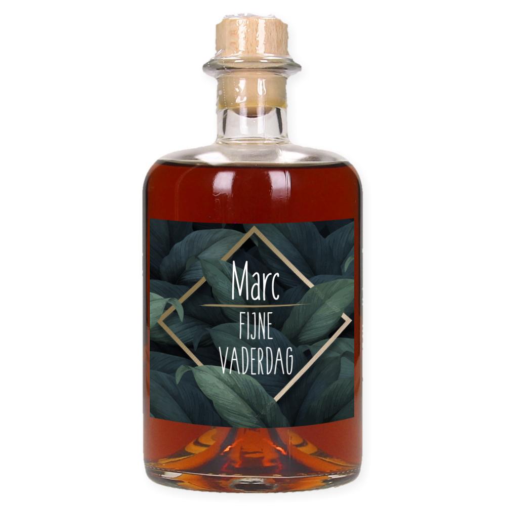 Vaderdag Rum met eigen etiket en naam - Tropical