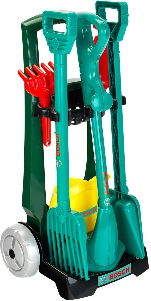 Bosch tuinaccessoirekar voor kinderen 7-delig
