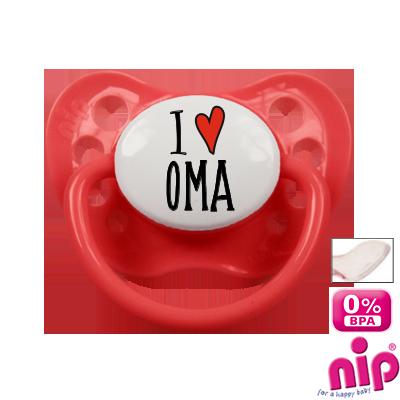 Fopspeen 'I Love Oma'