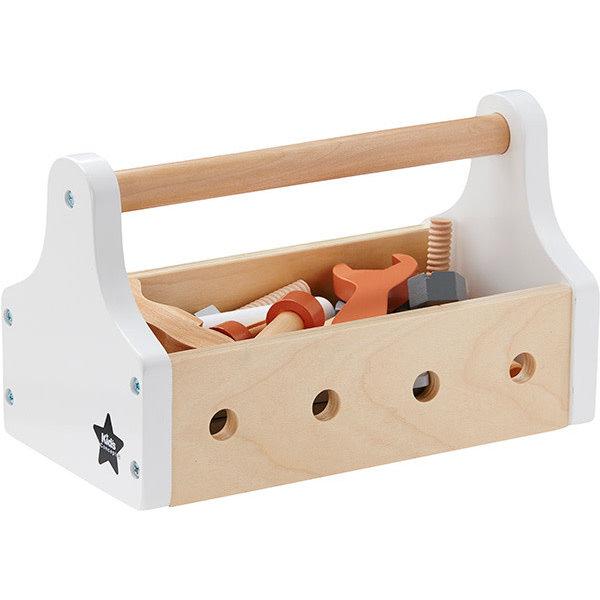 Kids Concept speelgoed gereedschapskist naturel