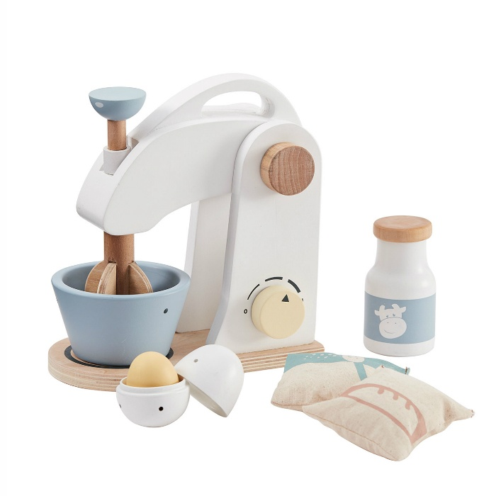 Kids Concept houten mixer wit