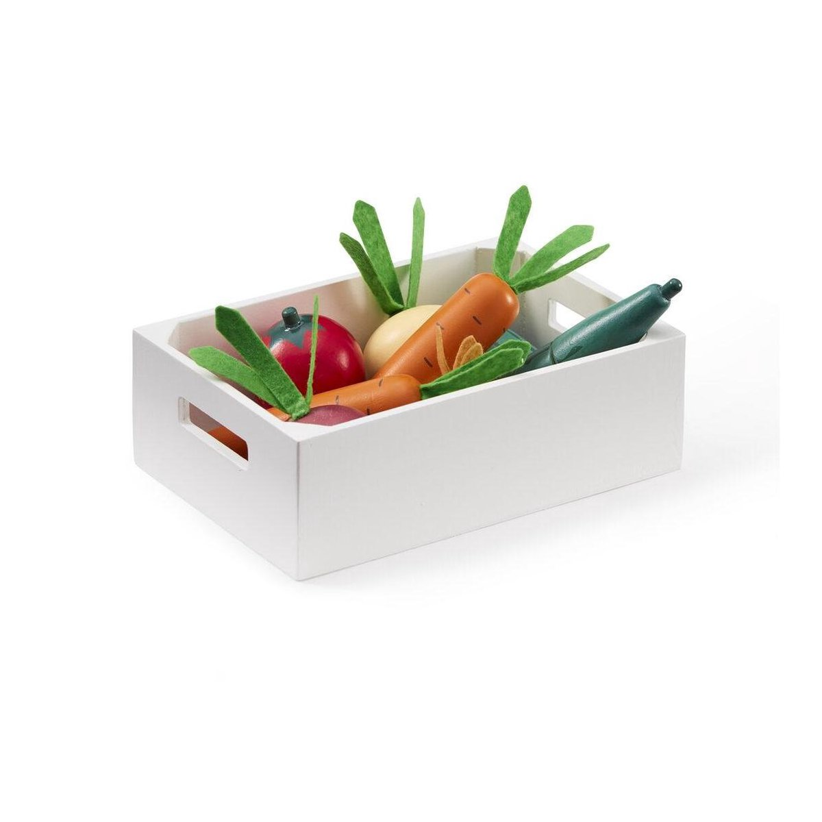 Kids Concept houten groentenkistje 10-delig