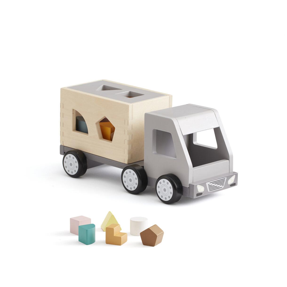 Kids Concept houten vrachtwagen met vormen Aiden