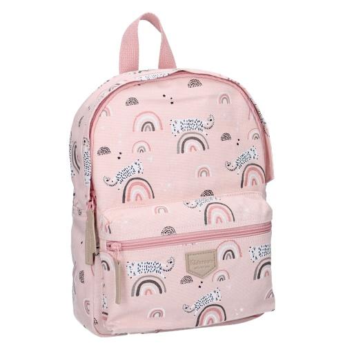 Kidzroom sac à dos arc en ciel rose
