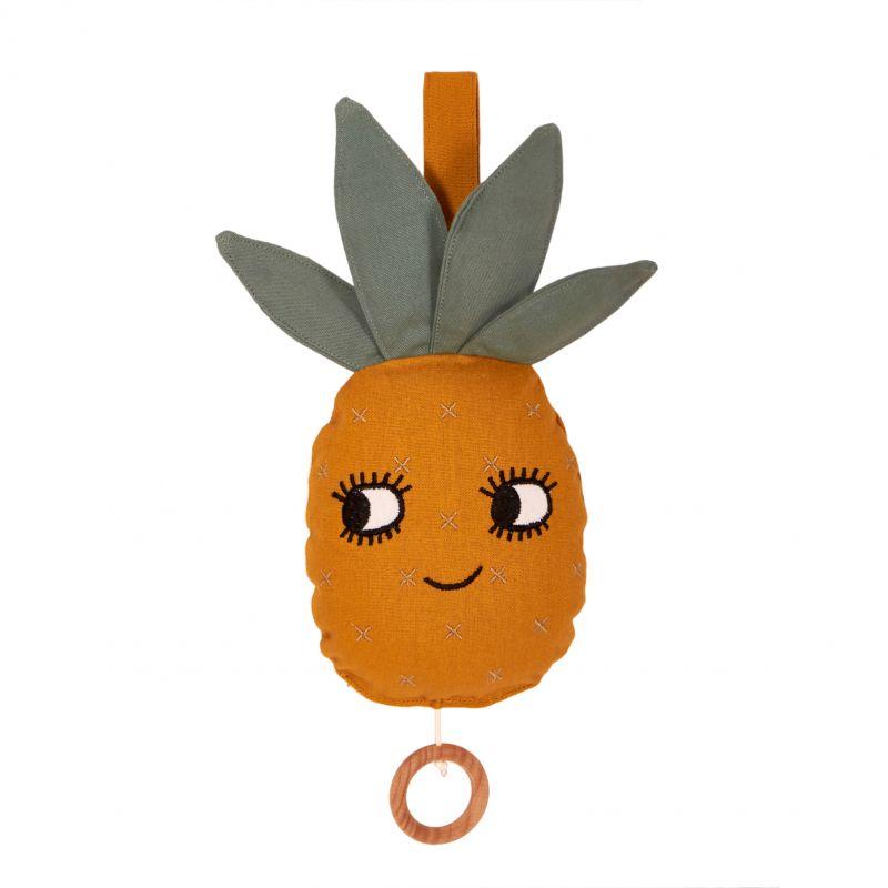 Roommate muziekmobiel Schattige Ananas