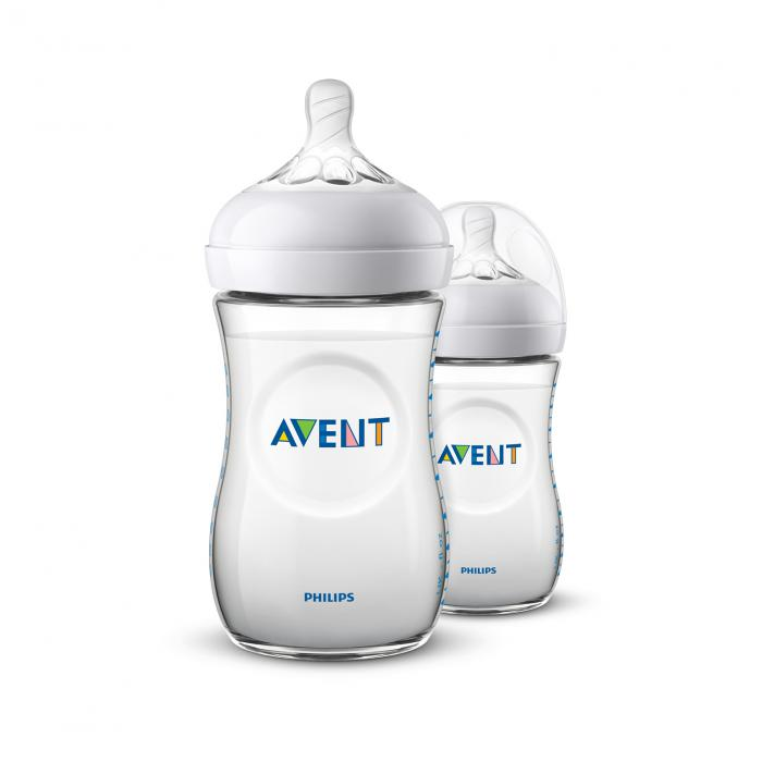 Philips Avent Natural Zuigfles 260ml DUO 2.0