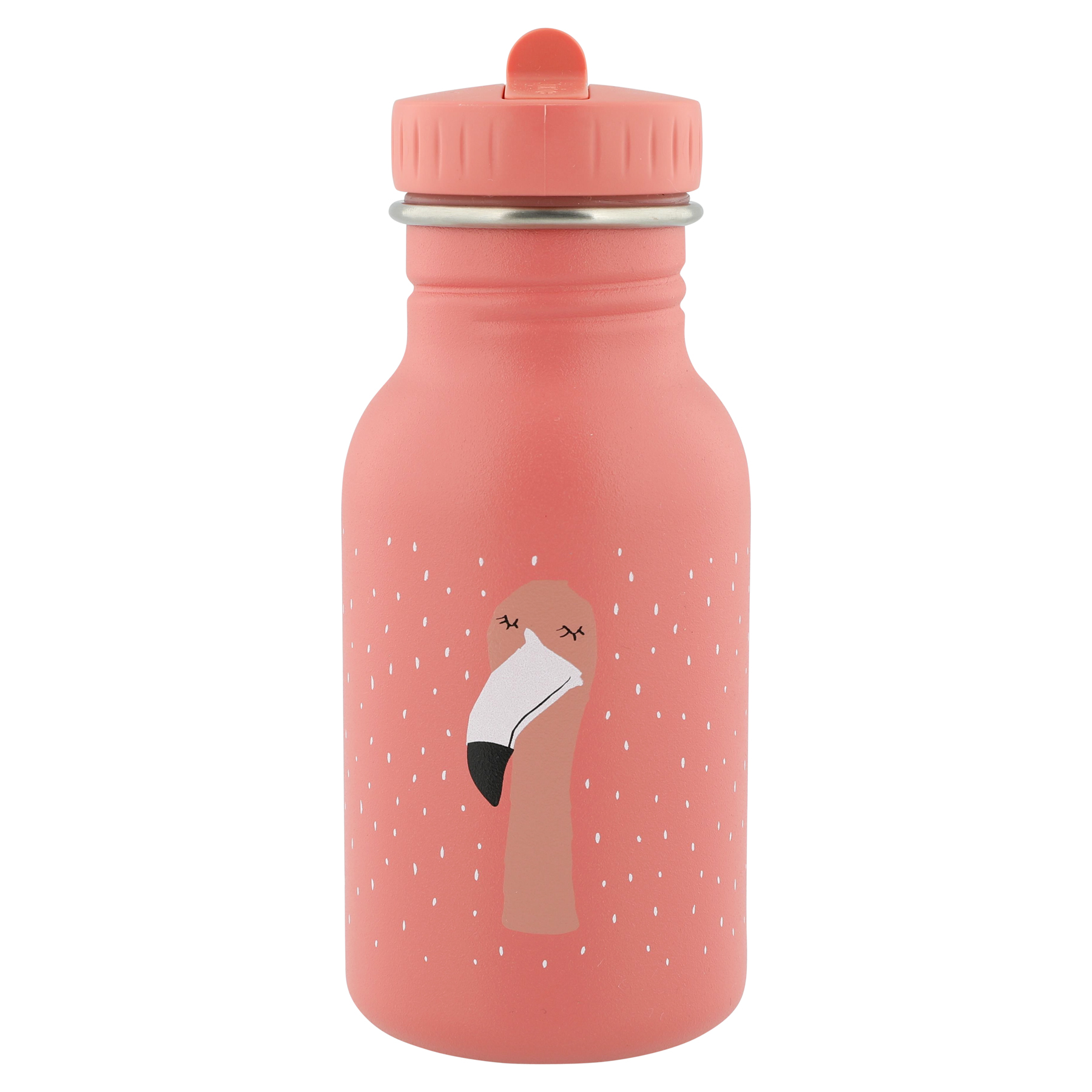 Trixie drinkfles Flamingo 350ml - Mrs Flamingo