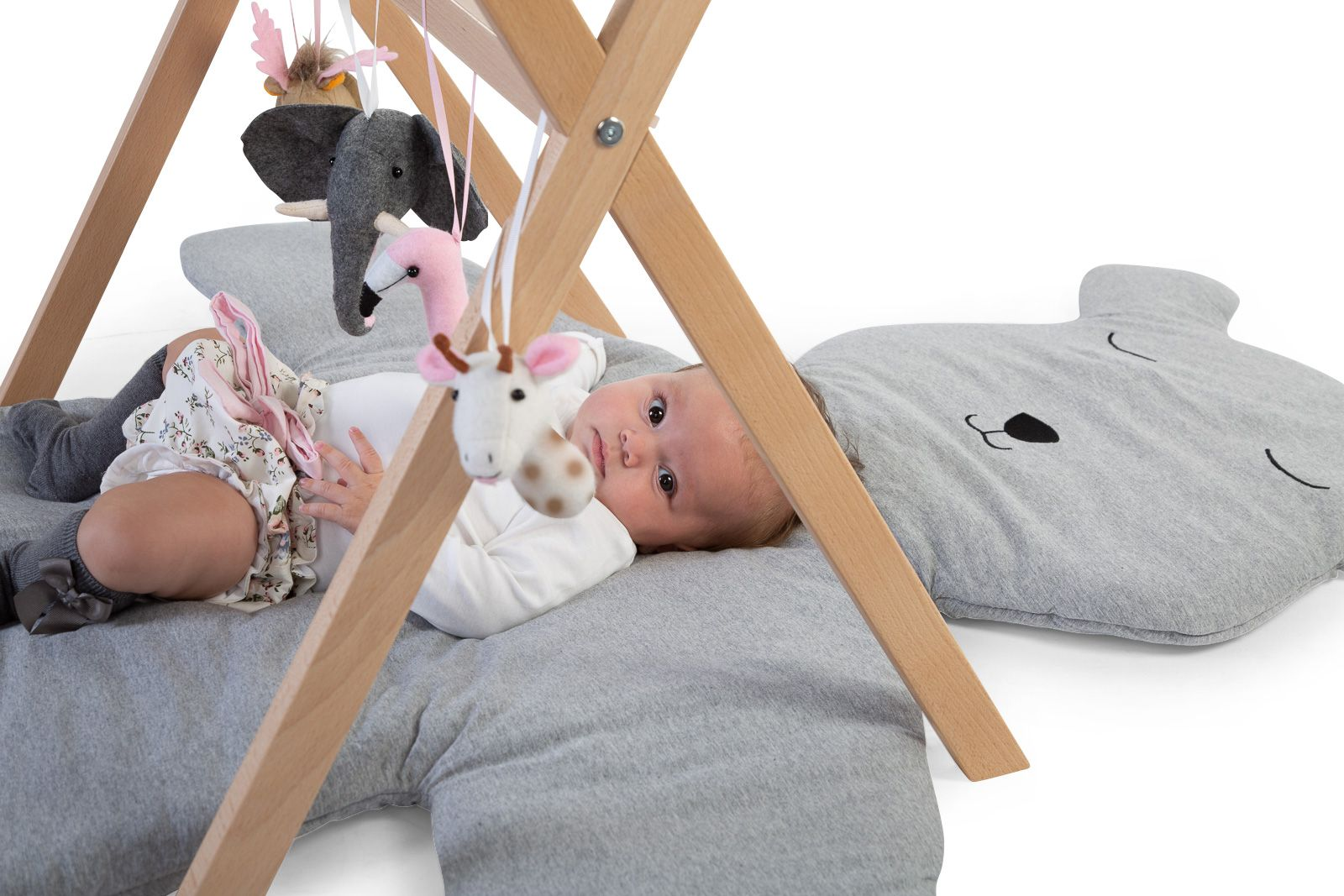 Childhome Tipi play babygym - hout naturel