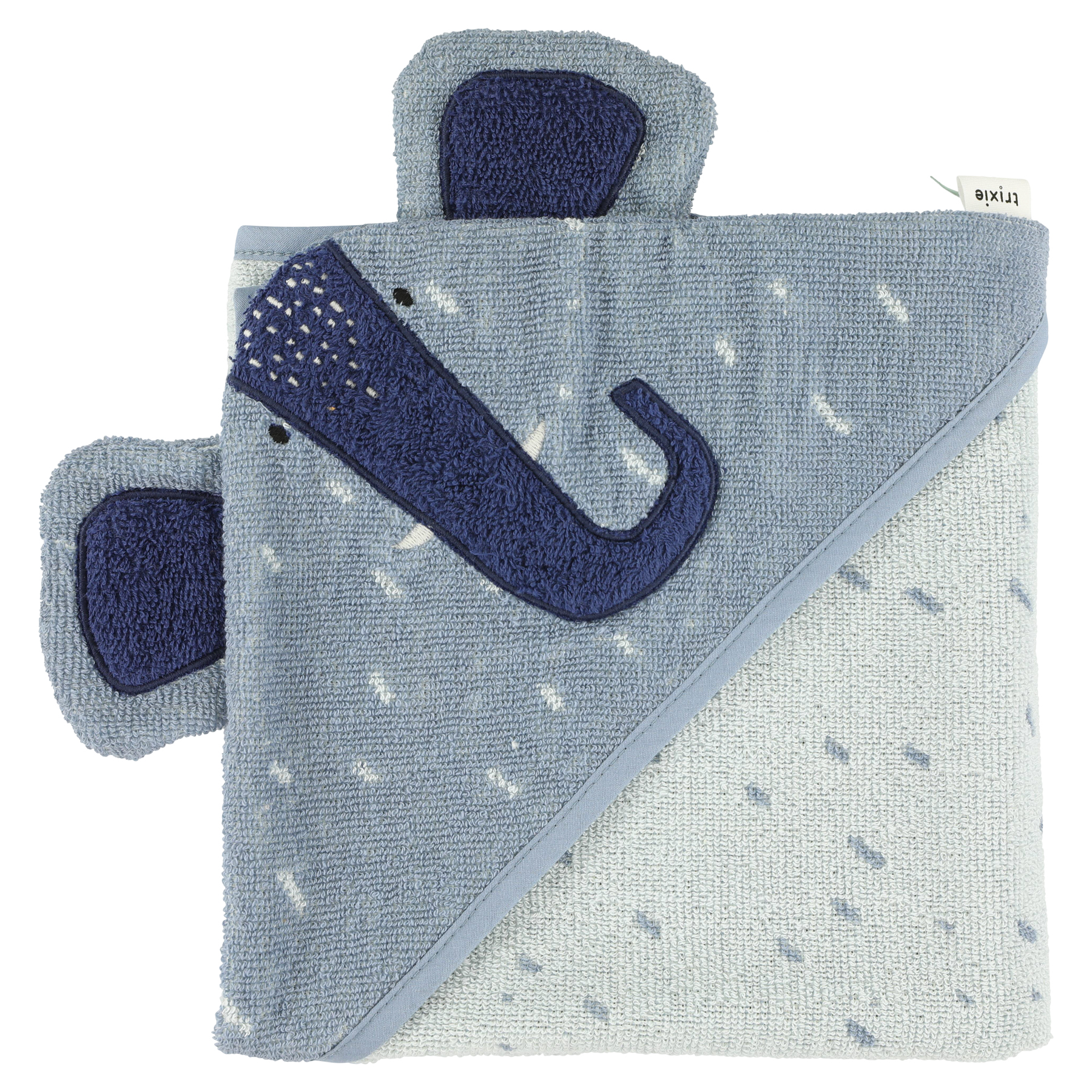 Trixie Cape de bain - 75x75cm - Mrs. Elephant