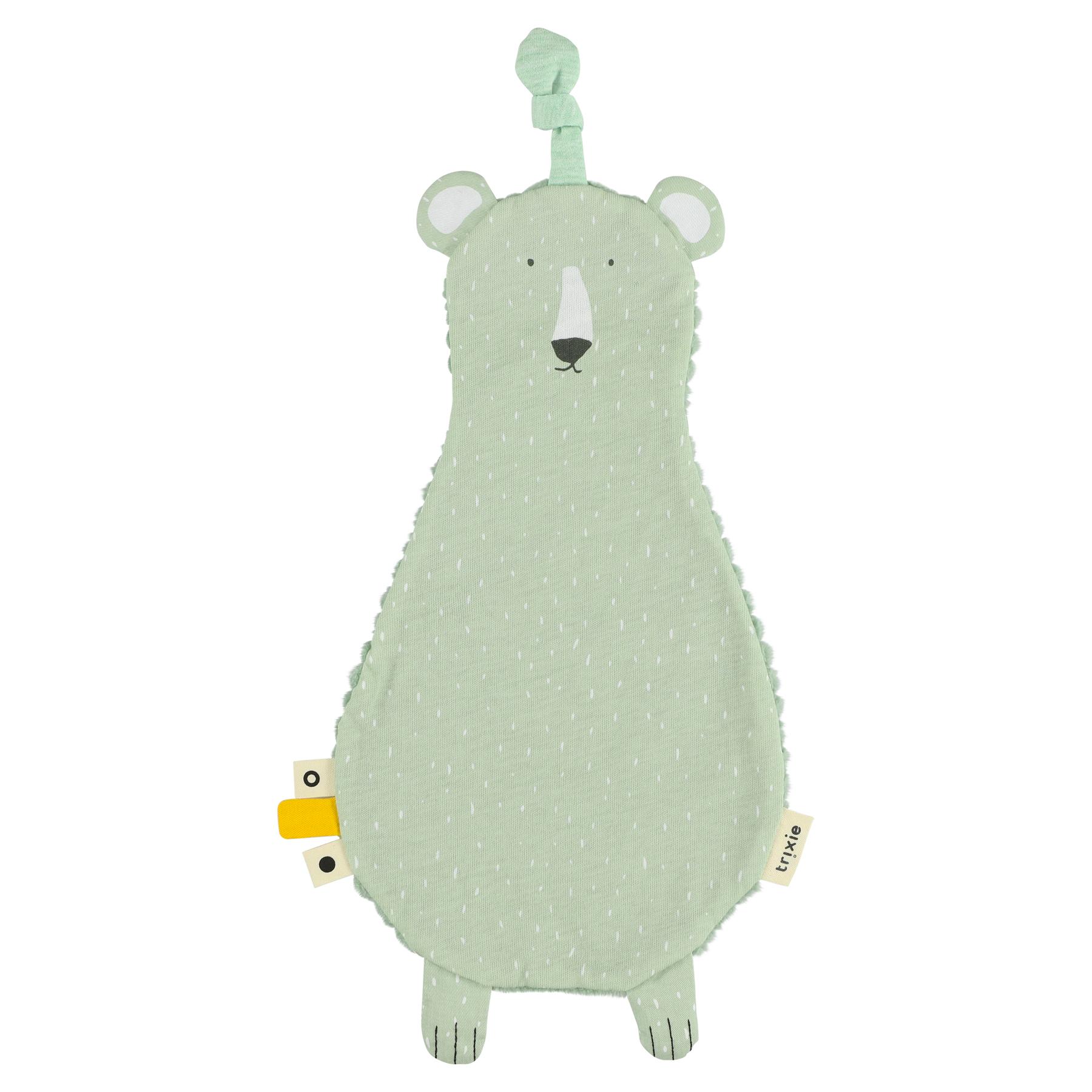 Trixie fopspeen knuffeldoekje Ijsbeer - Mr. Polar Bear