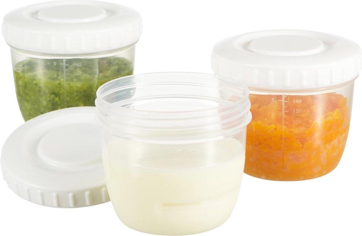 Difrax voeding bewaardoosjes 6 stuks