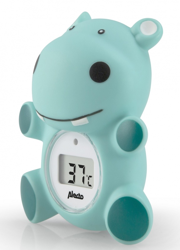 ALECTO Thermomètre de bain et de chambre Hippo