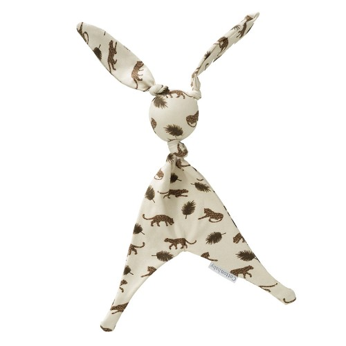 Cottonbaby doudou lapin jungle - écru