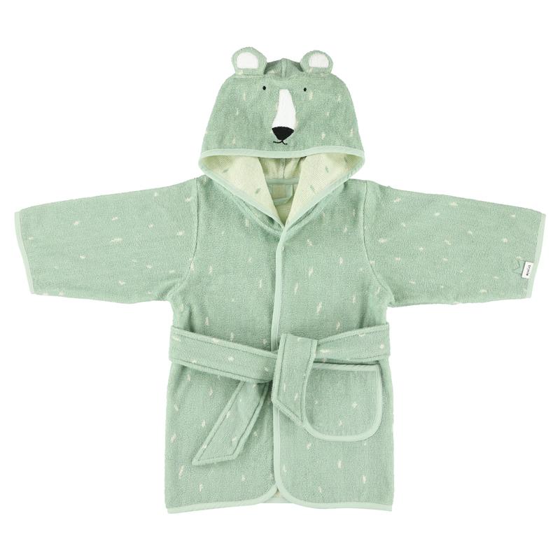 Trixie badjas Mr. Polar Bear - Ijsbeer - 1-2 jaar