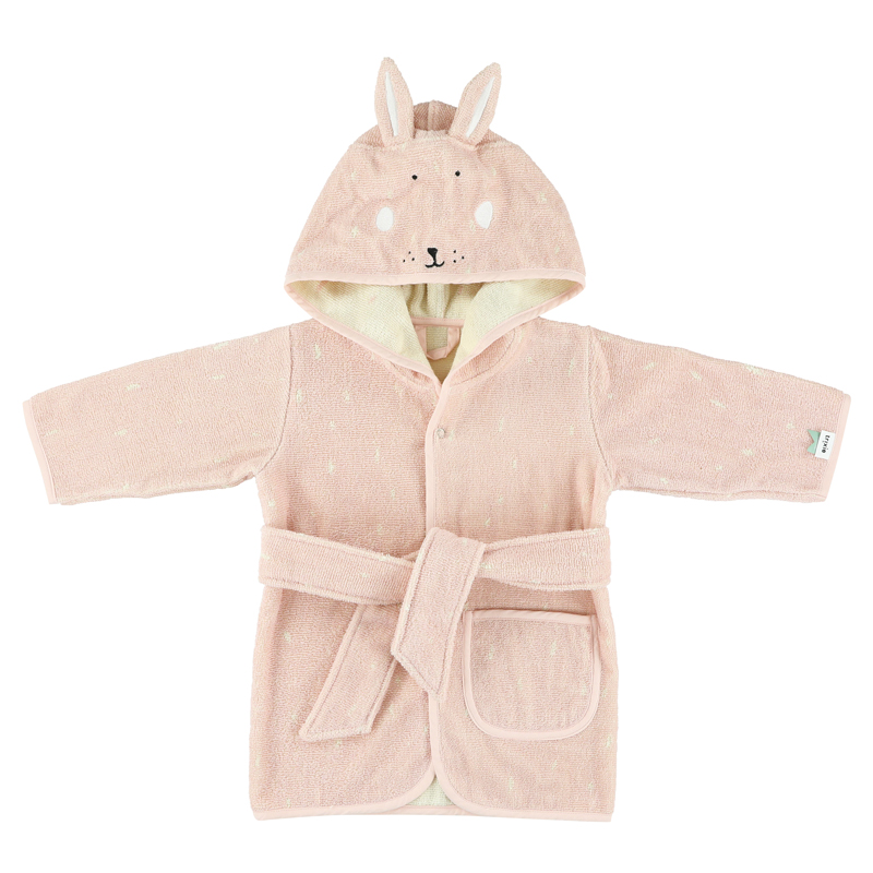 Trixie badjas Mrs. Rabbit - Konijn - 1-2 jaar