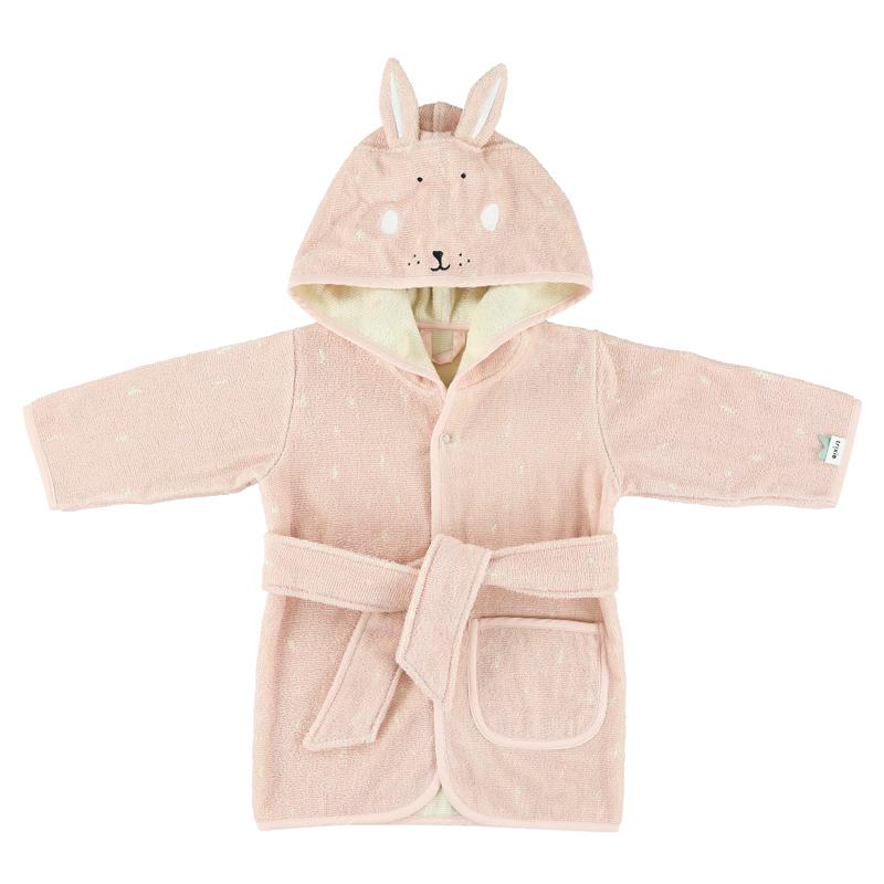 Trixie badjas Mrs. Rabbit - Konijn - 3-4 jaar