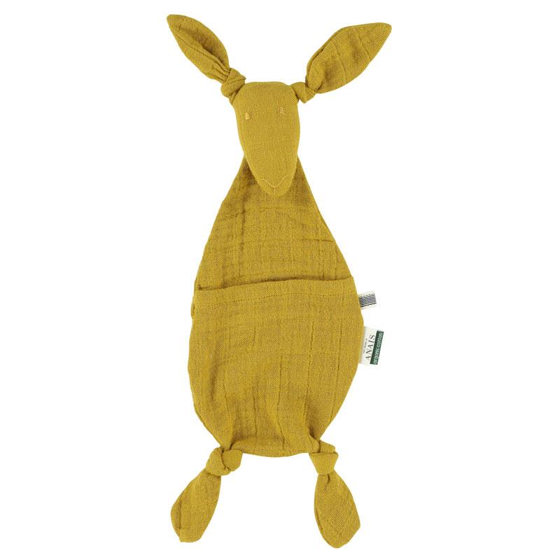 Tetra Kangaroe Troostdoekje -  Mustard