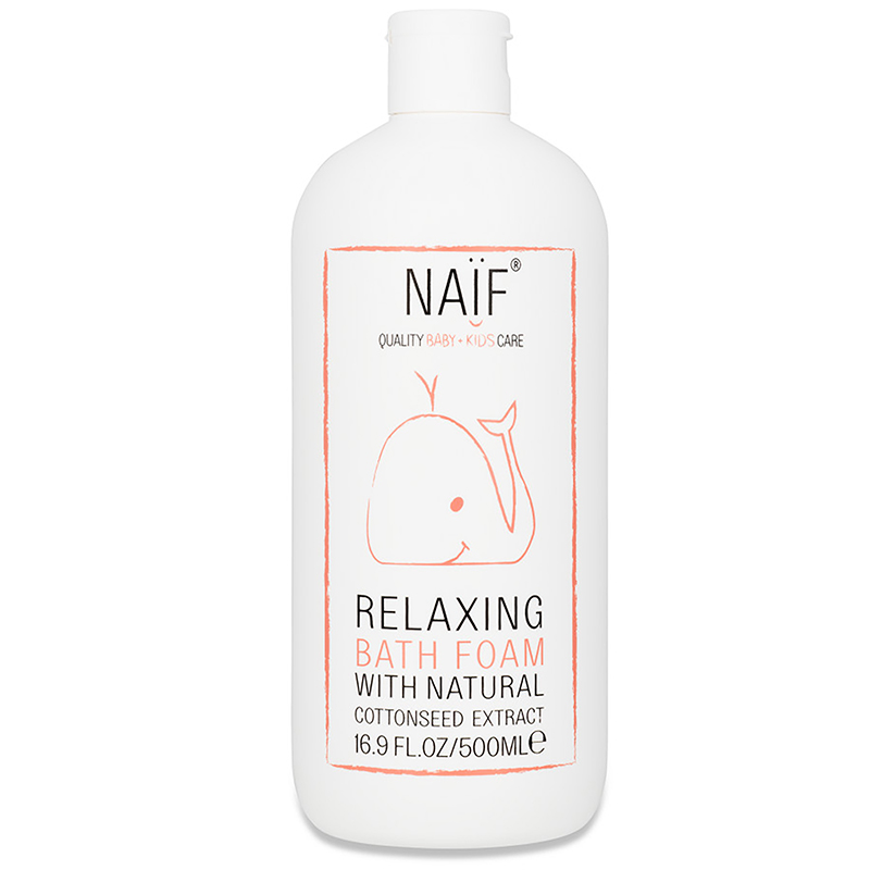 Naïf Baby Relaxing Bath Foam 500 ml