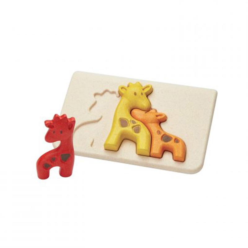 Plantoys - Puzzel Giraf