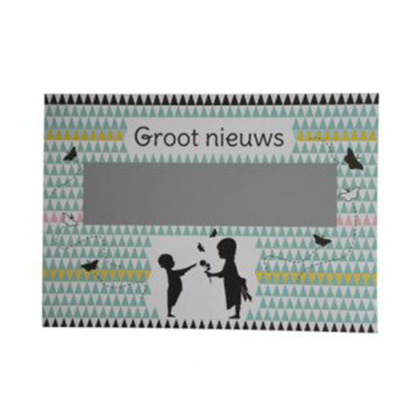 Kraslot Jullie Worden Oma En Opa - Groot Nieuws - Nordic Silhouette