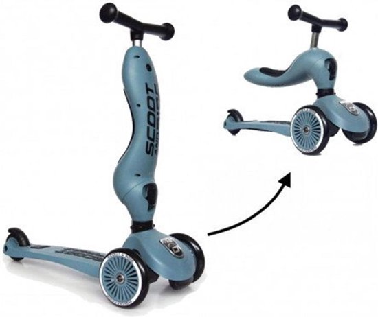 Scoot & ride Highwaykick 1 loopfiets/step - blueberry