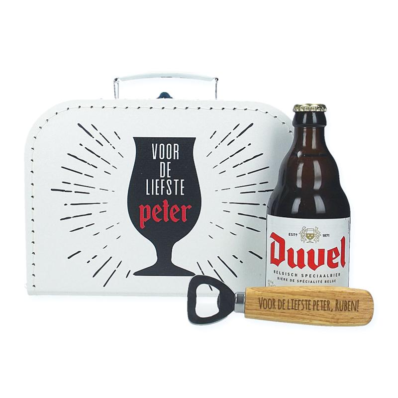 Bierpakket Duvel - Voor de liefste peter