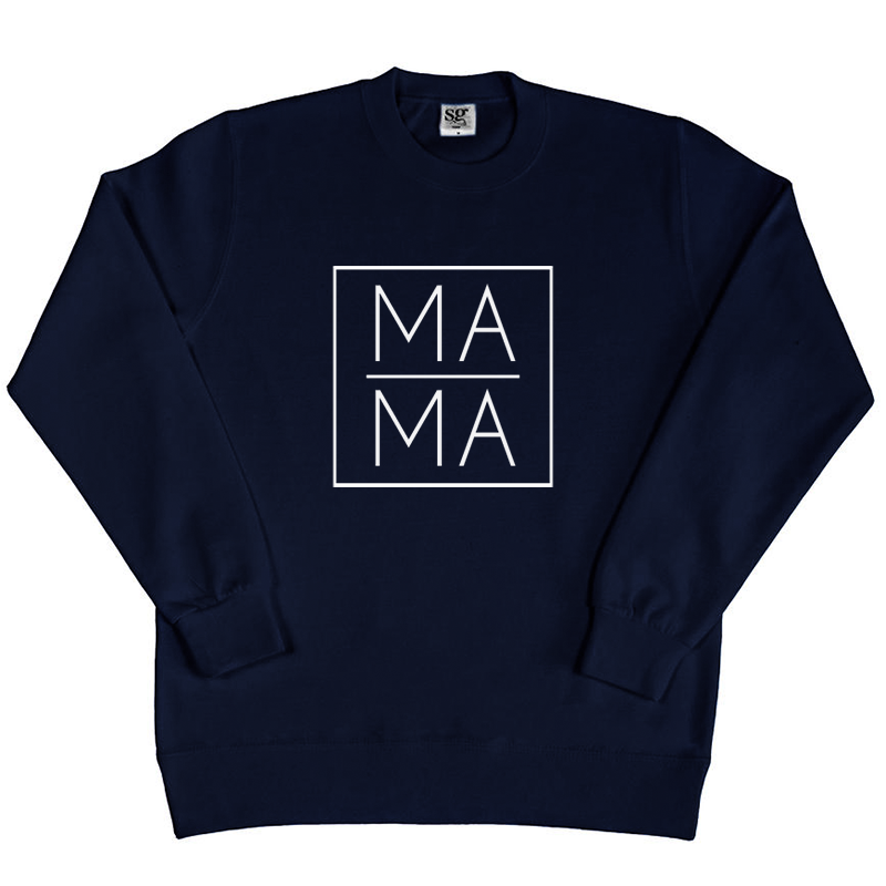 Sweater - Mama - Vierkant