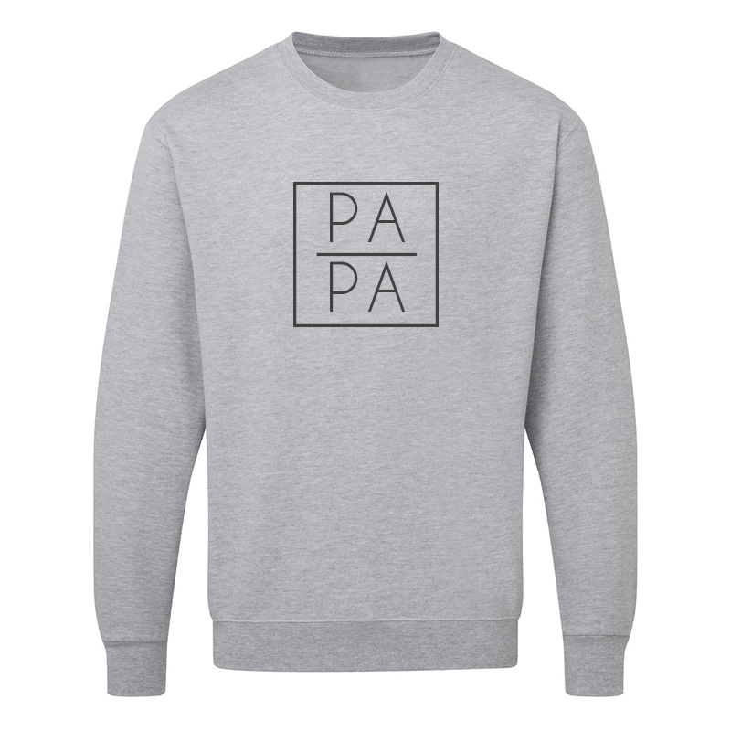 Sweater - Papa - Vierkant