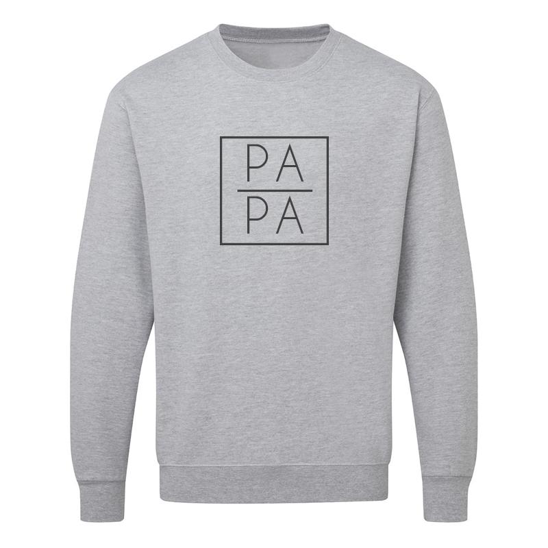 Sweater - Papa - Vierkant