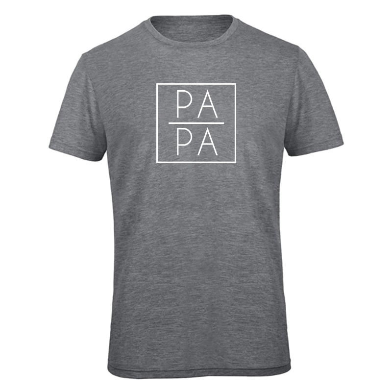 T-shirt - Papa - Vierkant