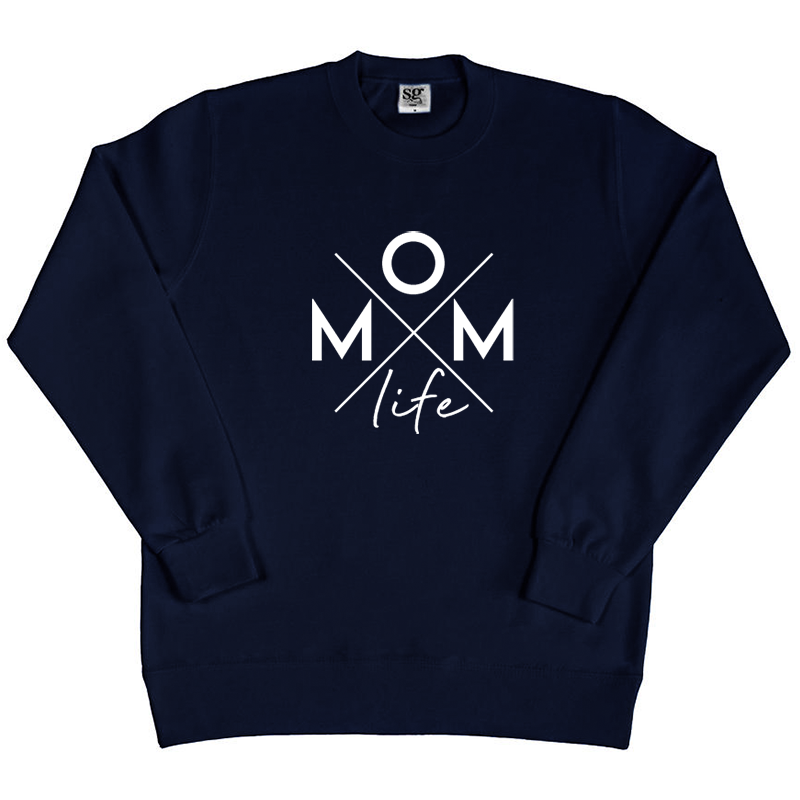 Sweater - Momlife - Kruis