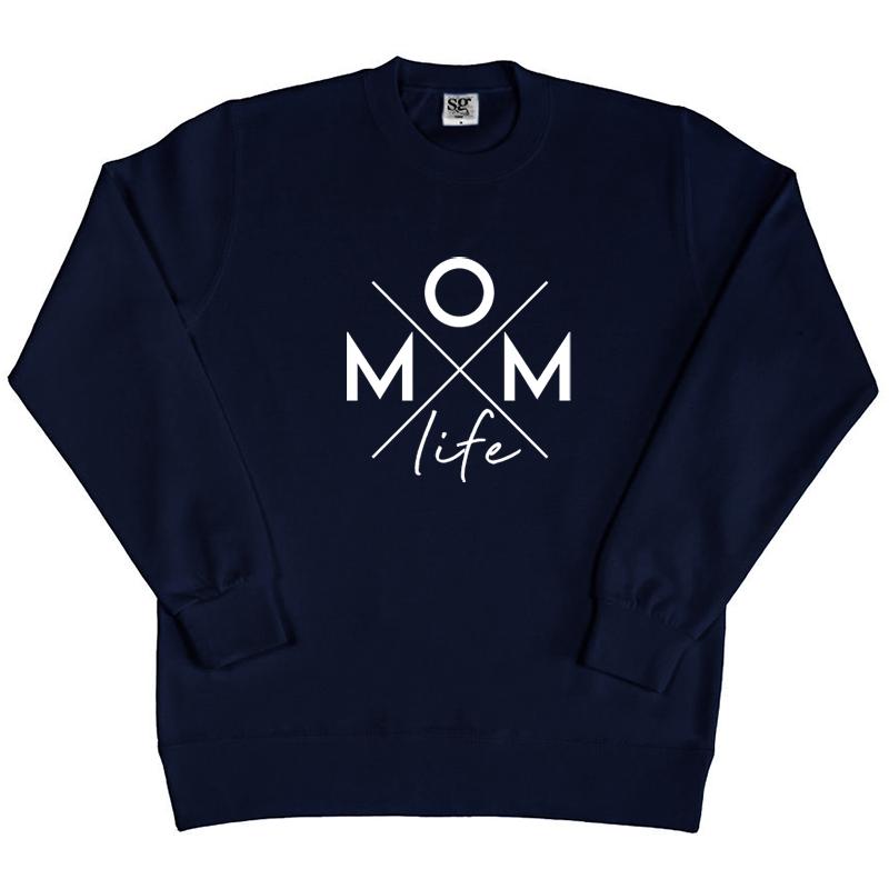 Sweater - Momlife - Kruis